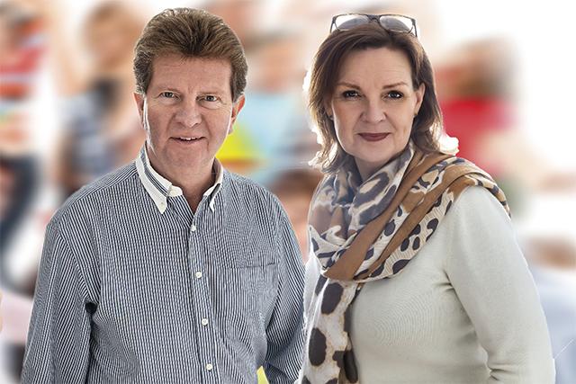 HÖSTMÄSSA ISTÄLLET.- Gård & Villa-mässan kommer igen våren 2021 och då bjuder vi på inträdet för alla besökare som förköper biljetter, säger Uno Hufvudsson och Nettan Sjöman marknadsansvariga.