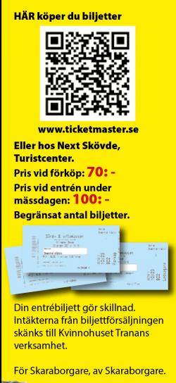 <br />BILJETTER.Se till att skaffa dig en biljett nu! https://bit.ly/2YlRgMn