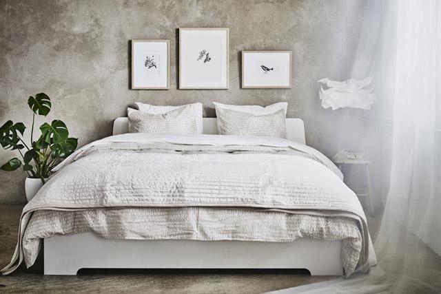 PRIVAT.Inred sovrummet som ditt högst privata rum utifrån den du är. Och strunta i krav på att visa upp det.Foto IKEA.