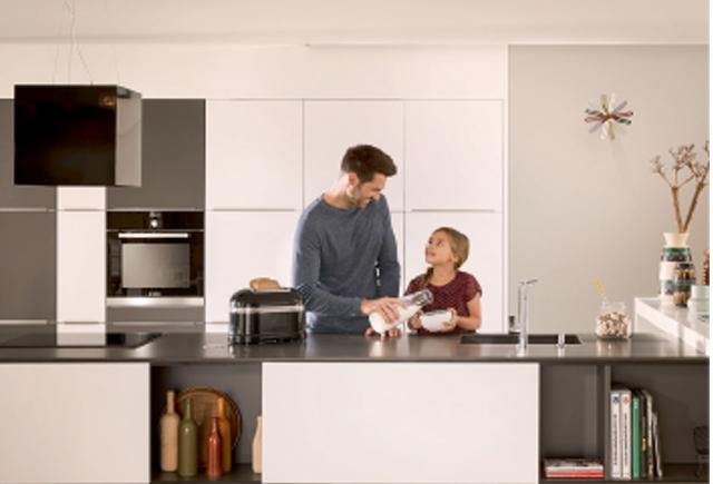 NÖJD ANNONSÖR. - Mobalpa . Ett köksvarumärke som vi kan stå för till 100 procent. Köken håller en hög kvalitet medgedigna stommar och luckor, säger Leif Eriksson påEriksson Snickeri och Inredning i Skultorp.